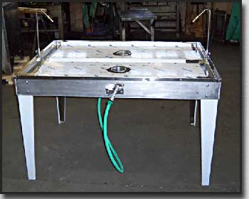 Ashley four man eviscerating table